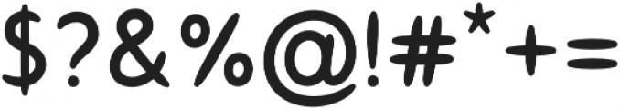 Softis Regular otf (400) Font OTHER CHARS