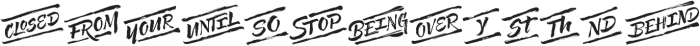 Solar Words otf (400) Font UPPERCASE