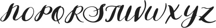 Solar otf (400) Font UPPERCASE