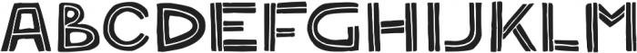 Solder Fill ttf (400) Font LOWERCASE