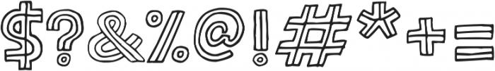 Solder ttf (400) Font OTHER CHARS