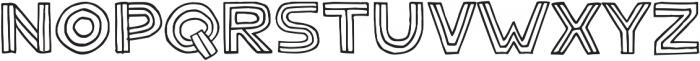 Solder ttf (400) Font LOWERCASE