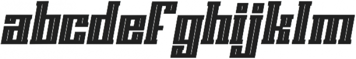 Solid Ground ttf (700) Font LOWERCASE