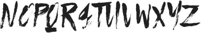 Solid ttf (400) Font UPPERCASE