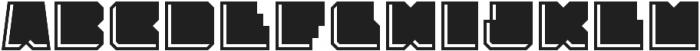 Solida Engraved Regular otf (400) Font UPPERCASE