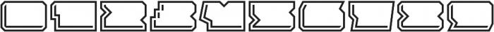 Solida Outline Engraved Wide Regular otf (400) Font OTHER CHARS