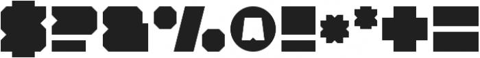 Solida Regular Regular otf (400) Font OTHER CHARS