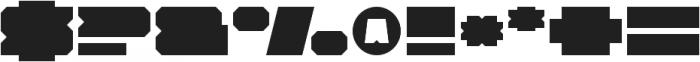 Solida Regular Wide Regular otf (400) Font OTHER CHARS