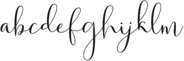 Solidar otf (400) Font LOWERCASE