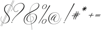 Solidaritha Script Regular otf (400) Font OTHER CHARS