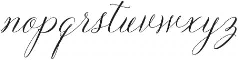 Solidaritha Script Regular otf (400) Font LOWERCASE