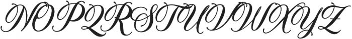 Solistaria Script Italic otf (400) Font UPPERCASE