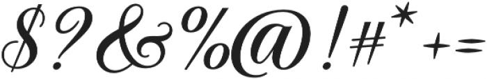 Solistaria Script Regular otf (400) Font OTHER CHARS