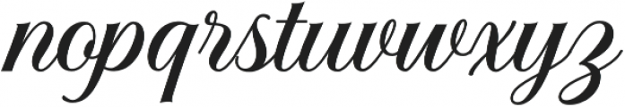 Solistaria Script Regular otf (400) Font LOWERCASE