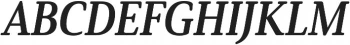Solitas Serif Cond Bold It otf (700) Font UPPERCASE