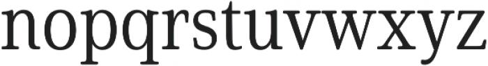 Solitas Serif Cond Book otf (400) Font LOWERCASE