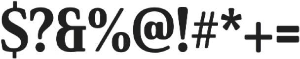 Solitas Serif Cond ExBold otf (700) Font OTHER CHARS