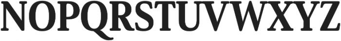 Solitas Serif Cond ExBold otf (700) Font UPPERCASE