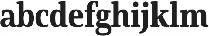 Solitas Serif Cond ExBold otf (700) Font LOWERCASE