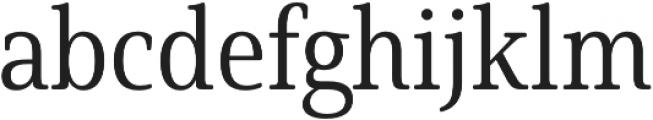 Solitas Serif Cond Regular otf (400) Font LOWERCASE
