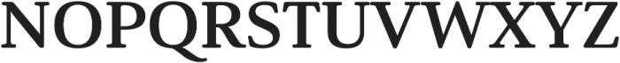 Solitas Serif Ext Bold otf (700) Font UPPERCASE