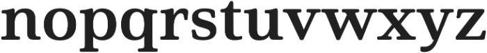 Solitas Serif Ext Bold otf (700) Font LOWERCASE
