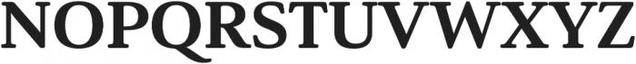 Solitas Serif Ext ExBold otf (700) Font UPPERCASE