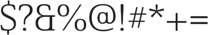 Solitas Serif Ext Light otf (300) Font OTHER CHARS