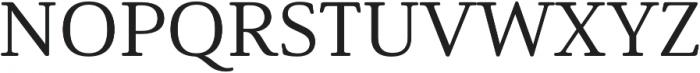 Solitas Serif Ext Medium otf (500) Font UPPERCASE