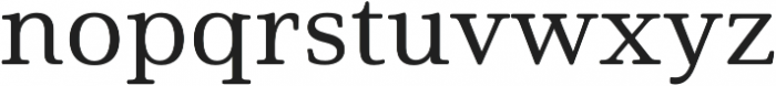Solitas Serif Ext Medium otf (500) Font LOWERCASE
