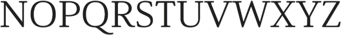 Solitas Serif Ext Regular otf (400) Font UPPERCASE