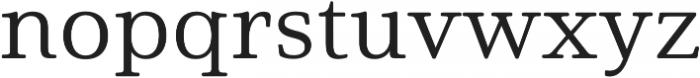 Solitas Serif Ext Regular otf (400) Font LOWERCASE