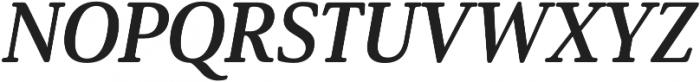 Solitas Serif Norm Bold It otf (700) Font UPPERCASE