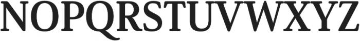 Solitas Serif Norm Bold otf (700) Font UPPERCASE