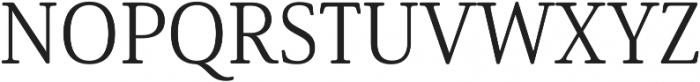 Solitas Serif Norm Book otf (400) Font UPPERCASE