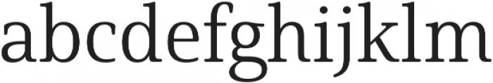 Solitas Serif Norm Book otf (400) Font LOWERCASE