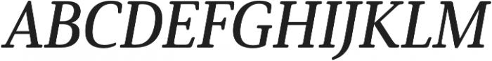 Solitas Serif Norm Demi It otf (400) Font UPPERCASE