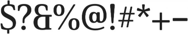 Solitas Serif Norm Demi otf (400) Font OTHER CHARS