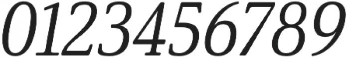 Solitas Serif Norm Regular It otf (400) Font OTHER CHARS