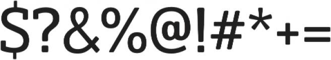 Solitas Slab otf (400) Font OTHER CHARS