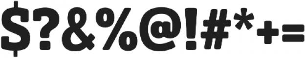 Solitas Slab otf (700) Font OTHER CHARS
