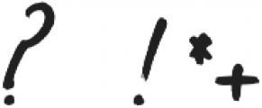 Solmet Brush otf (400) Font OTHER CHARS