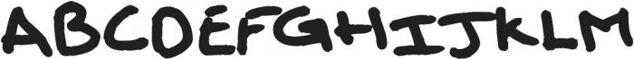 Solo Font ttf (400) Font UPPERCASE
