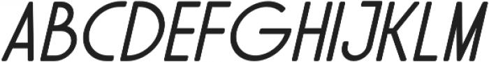 Solo Italic otf (700) Font LOWERCASE