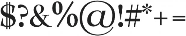Solomon SemiBold otf (600) Font OTHER CHARS