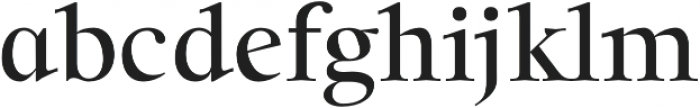 Solomon SemiBold otf (600) Font LOWERCASE