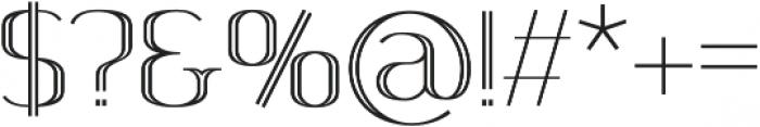 SomaSkript Incised Regular otf (400) Font OTHER CHARS