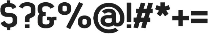 SomaSlab Heavy otf (800) Font OTHER CHARS