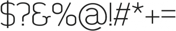 SomaSlab Medium otf (500) Font OTHER CHARS