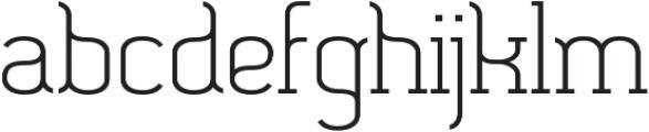 SomaSlab Medium otf (500) Font LOWERCASE